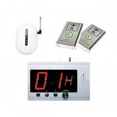 Комплект системы вызова помощи ТИФЛОВЫЗОВ ПС-1099 с двумя антивандальными кнопками из нержавеющей стали
