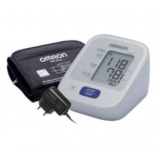 Тонометр OMRON M2 Basic c адаптером и универсальной веерообразной манжетой (22-42 см)