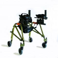 Ходунки для детей больных ДЦП Мега-Оптим HMP-KA2200 с подлокотной опорой