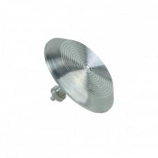 Алюминиевый тактильный индикатор КТ 02 (AL) l-15. 35x35x5 мм