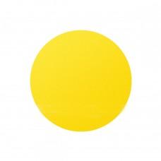 Круг для контрастной маркировки дверных проемов 100 мм желтый