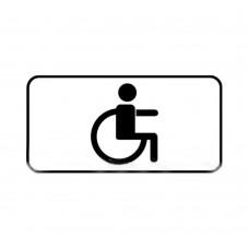 Дорожный знак 8.17 Инвалид 700x350 мм
