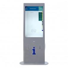 Терминал информационный Tactile-VERT-1(43)V с индукционной системой и источником бесперебойного питания 1861x650x175 мм