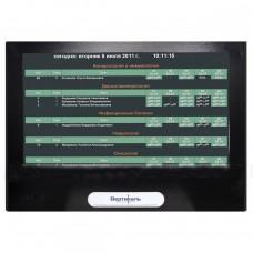 Медиаэкран DISPLAY VERT-43G со встроеннной индукционной системой 800х1125х145 мм