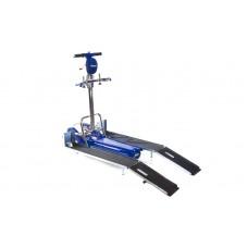 Лестничный подъемник для инвалидов LG 2004 с рампой