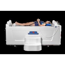 Комплекс для подводного вытяжения и гидромассажа позвоночника Акватракцион (со встроенным механизмом подъема пациента)