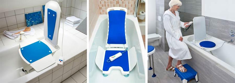 Подъемные устройства в ванну для пожилых людей