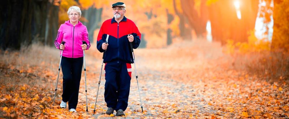 Физическая активность пожилых людей